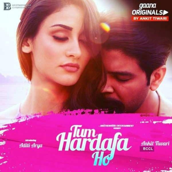 Aditi Arya's first look poster for music video 'Tum Hardafa Ho'