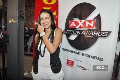 Neha at AXN media meet