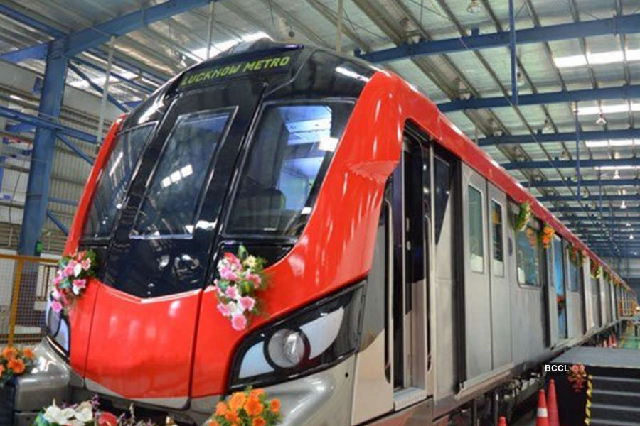 In pics: Lucknow Metro flagged off