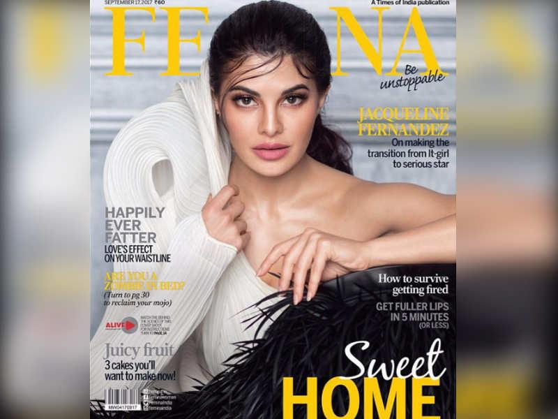 Pic: Jacqueline Fernandez looks alluring on the cover of Femina