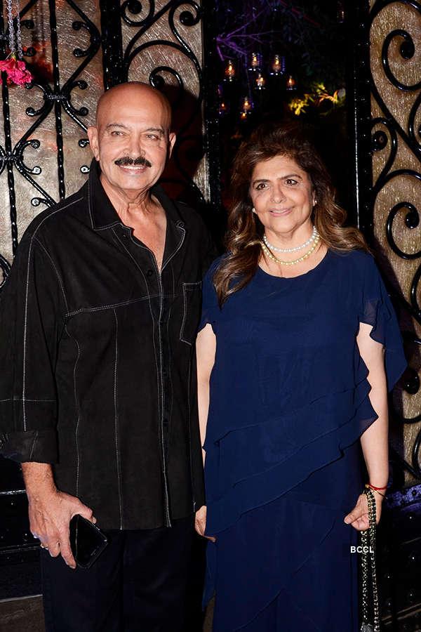 Bollywood celebrities attend director Rakesh Roshan's birthday party