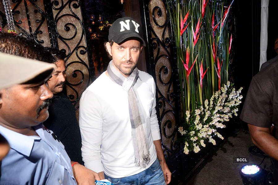 Bollywood celebrities attend director Rakesh Roshan's birthday party