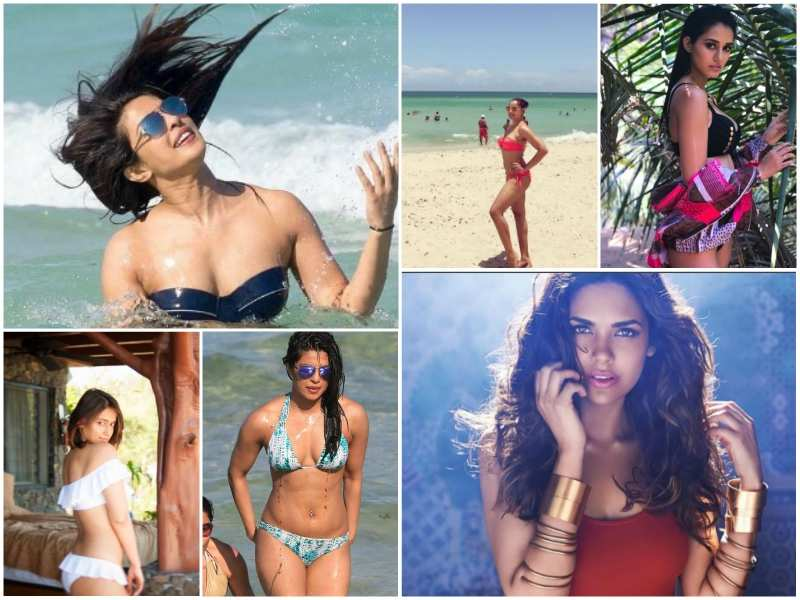 Hot Bikini Photos Best Bollywood Actresses Sexy Bikini Pics Of 2017
