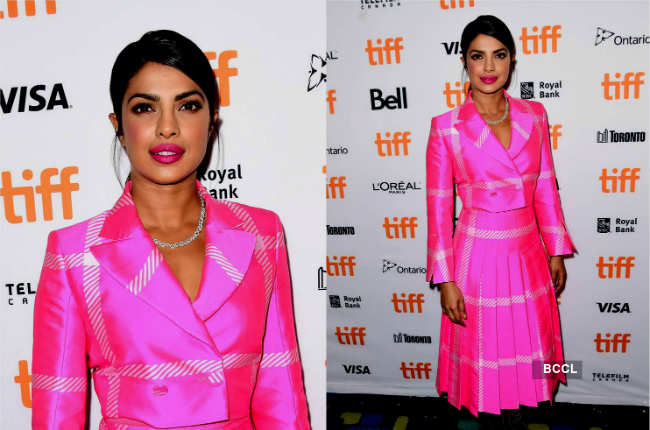 Priyanka Chopra 2nd day TIFF