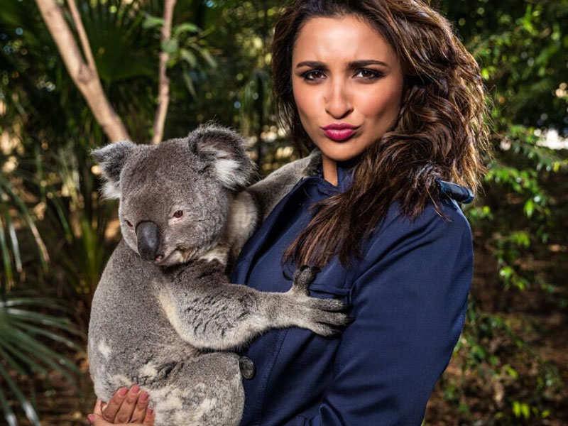 Parineeti Chopra trolled for her picture cuddling a Koala
