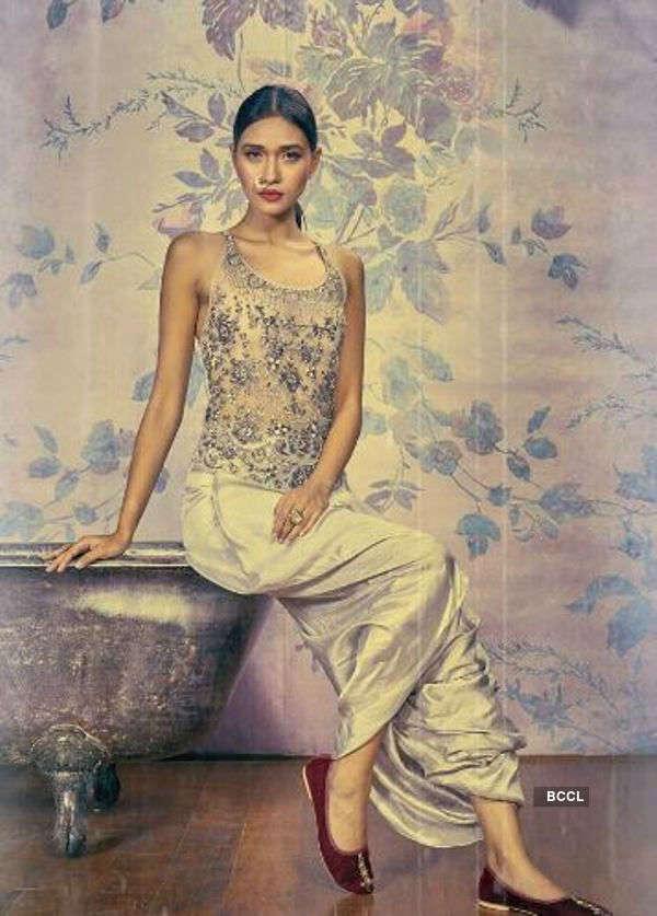 Aradhana Buragohain's vintage photo shoot