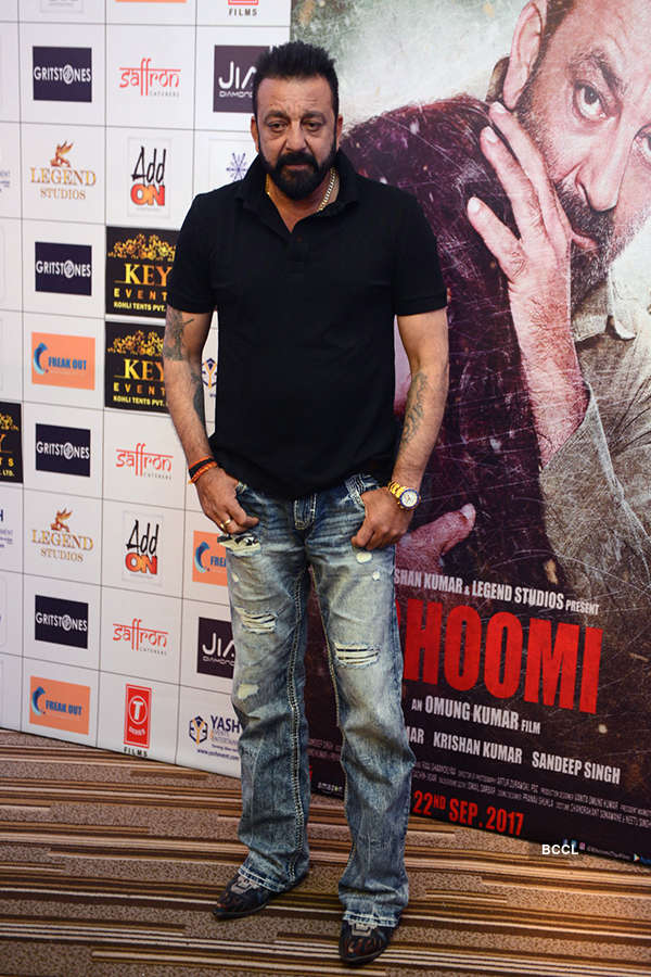 Sanjay, Aditi promote 'Bhoomi'