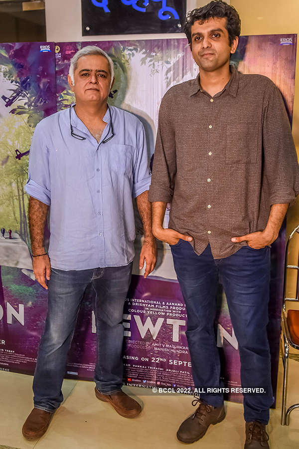 Hansal Mehta and Amit Masurkar