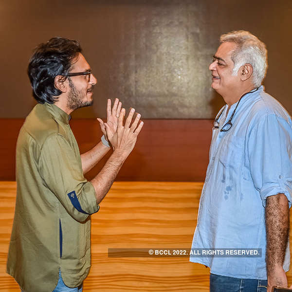 Vishesh Bhatt and Hansal Mehta