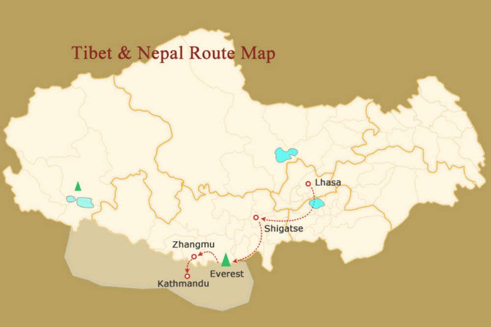 Nepal-Tibet road reopens : Go now! Nepal-Tibet road reopens