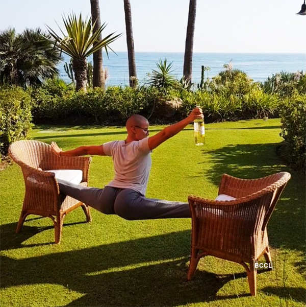 Russian mom Marina Vovchenko becomes internet sensation with her impressive yoga poses