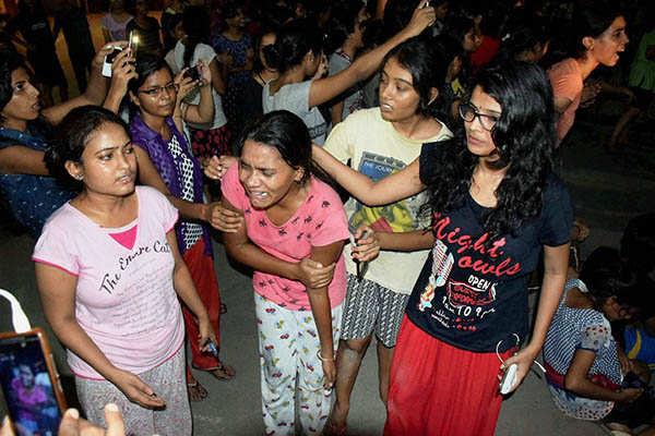 BHU protest turns violent