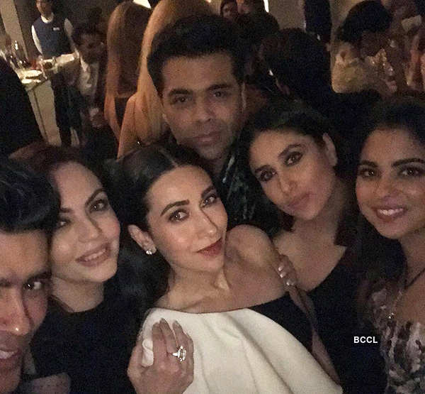 B'wood celebs attend Mukesh Ambani's dinner party