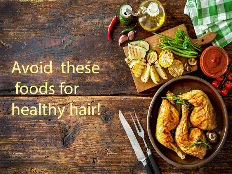 5 Foods that cause grey hair