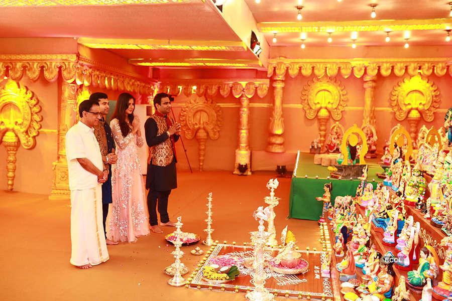 Celebs attend starry Navratri celebration