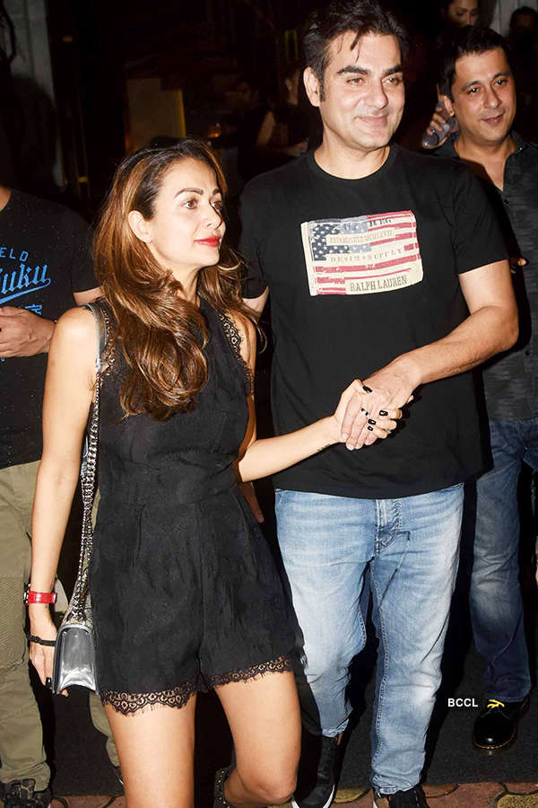 Ex-couple Malaika Arora and Arbaaz Khan celebrate Diwali together