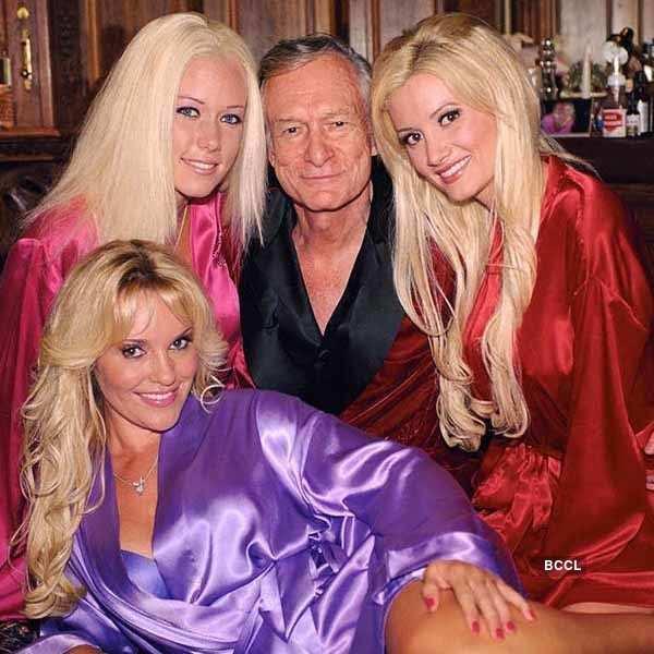 Hugh Hefner's Glamorous Lifestyle
