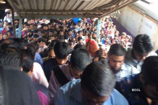 Several killed in Mumbai railway bridge stampede