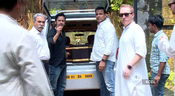 Tom Alter's funeral