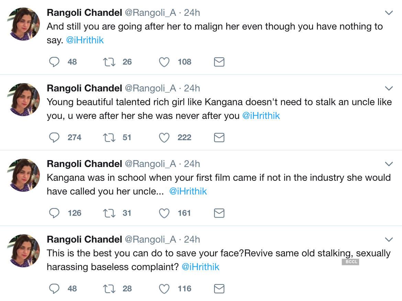 Rangoli Chandel Tweets