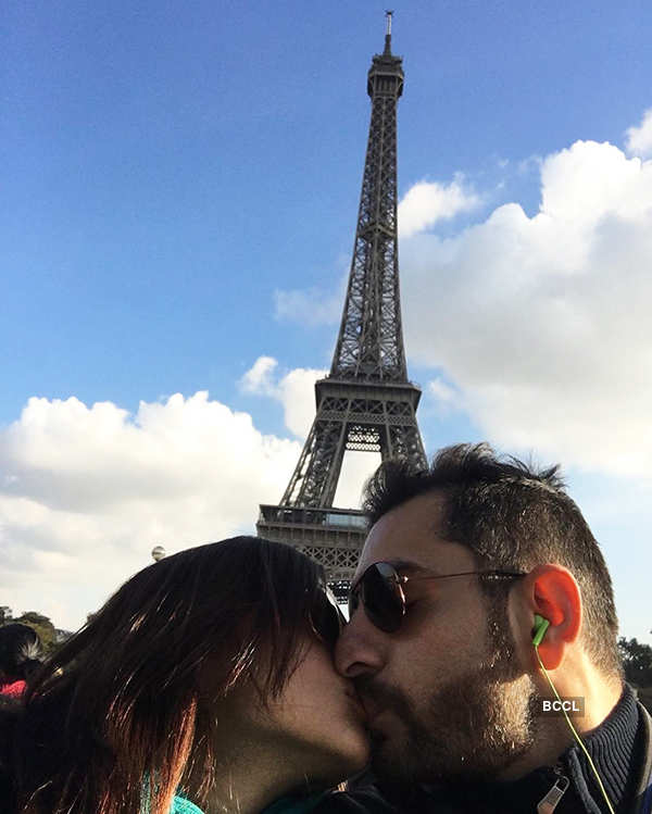 Celebrity PDA moments