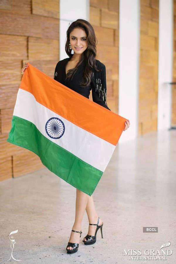 Anukriti Gusain's journey at Miss Grand International 2017