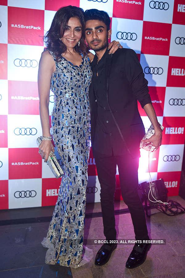 Celebs attend Audi A5 launch