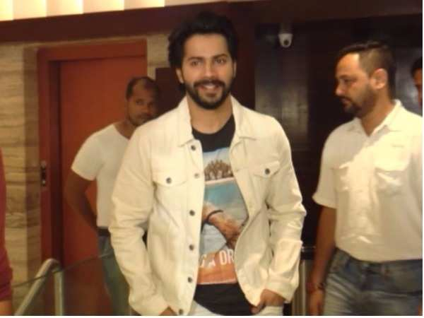 Varun Dhawan gets candid about cancer patients