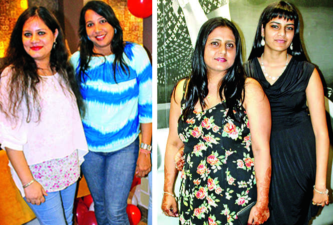 (L) Riddhika and Priyank (R) Rita and Nippi (BCCL/ IB Singh)