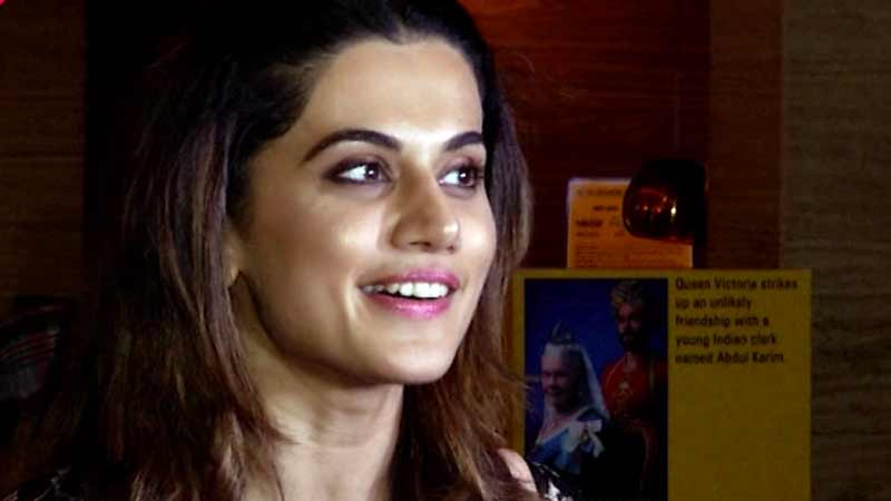 Taapsee Pannu overwhelmed with 'Judwaa 2' response