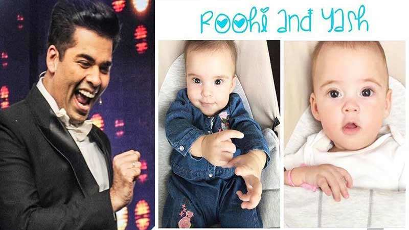 Karan Johar makes space for Yash, Roohi in his office