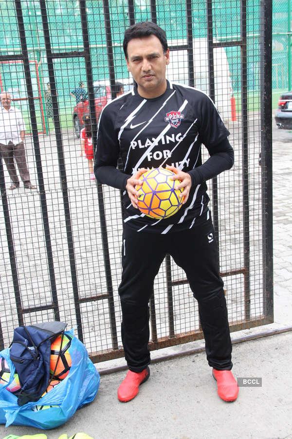 Celebs play Football for fun