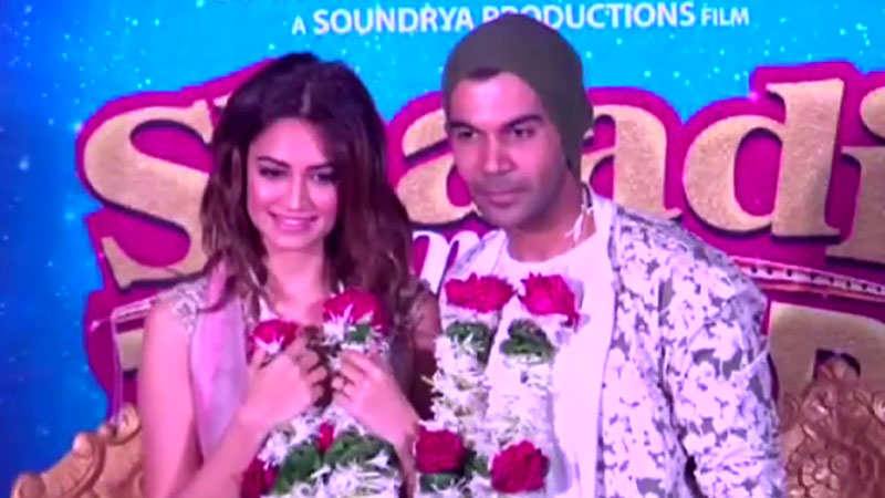Rajkummar Rao and Kriti Kharbanda launch the trailer of 'Shaadi Mein Zaroor Aana'