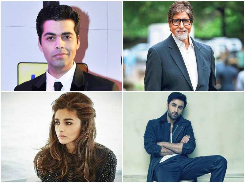 Karan Johar announces his upcoming film trilogy with Amitabh Bachchan,  Ranbir Kapoor and Alia Bhatt