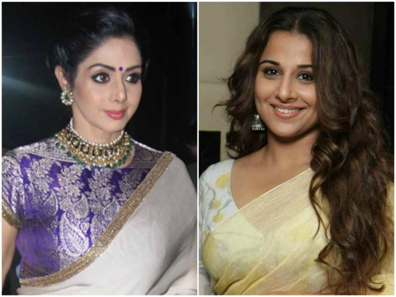 Image result for images of sridevi and vidya