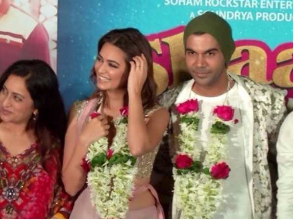 Rajkummar Rao at the trailer launch of 'Shaadi Mein Zaroor Aana'