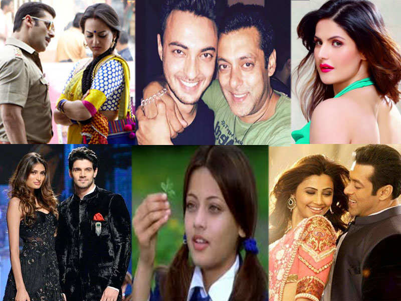 90a82114 Bollywood celebs launched by Salman Khan