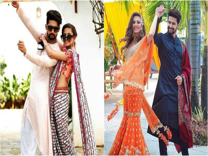Sargun Mehta And Ravi Dubey Are The Perfect Couple For Style Inspiration This Wedding Season