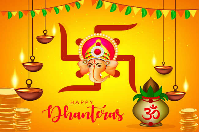 How to perform Dhanteras Puja at home