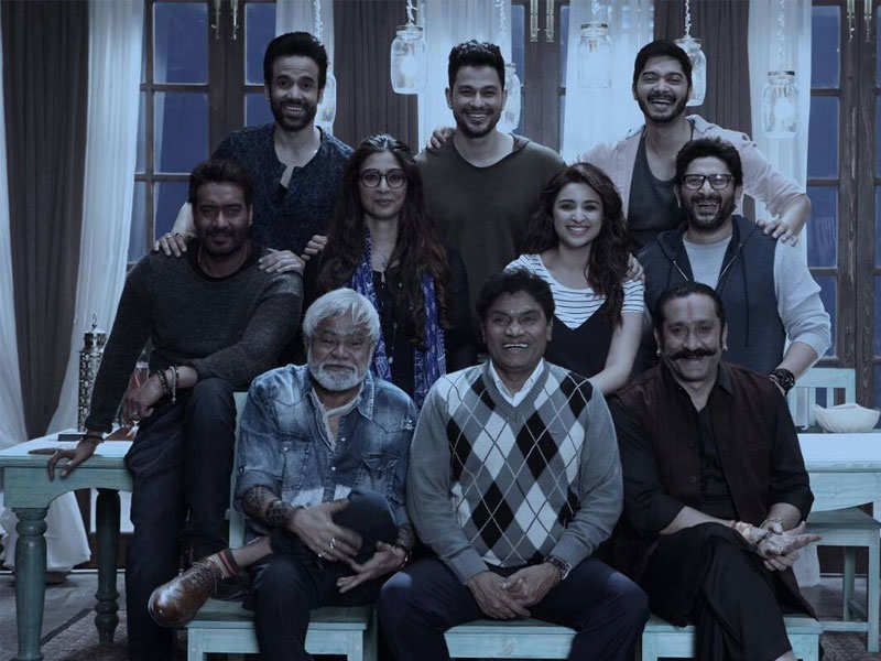 Golmaal Again Candid Pictures Of The Star Cast