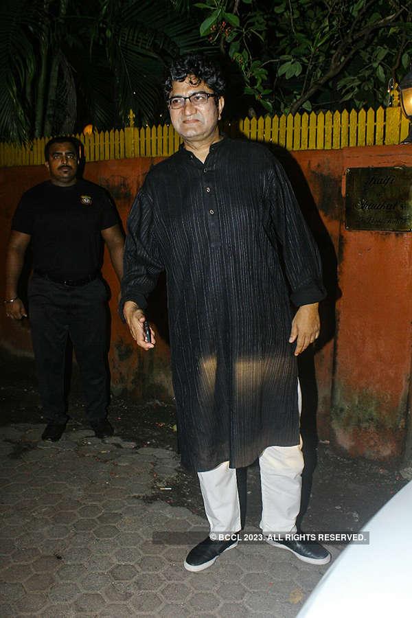 Shabana Azmi's starry Diwali party