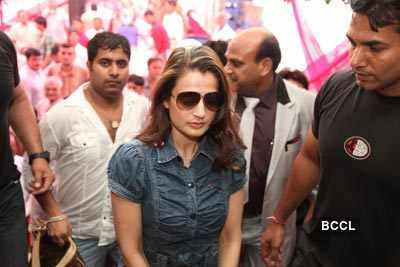 Ameesha @ food outlet launch