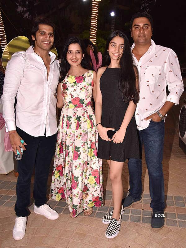 Karanvir and Teejay celebrate their twin daughters first birthday