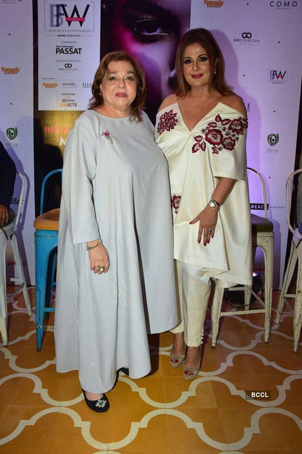India Beach Fashion Week: Press Meet