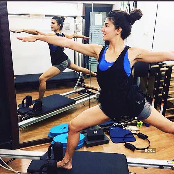  Jacqueline Fernandez's workout
