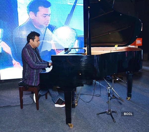 A.R. Rahman Performs at JBL Launch