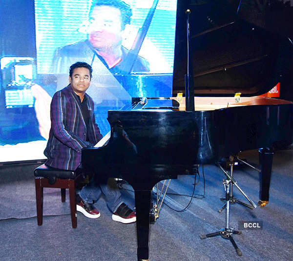 A.R. Rahman Performs at JBL Launch