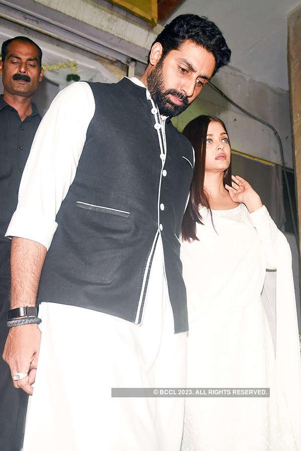 Celebrities attend Rani Mukerji's late father Ram Mukherjee's prayer meet