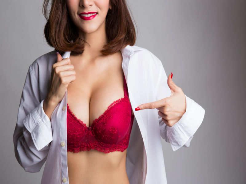 Never wear a red bra under white shirt