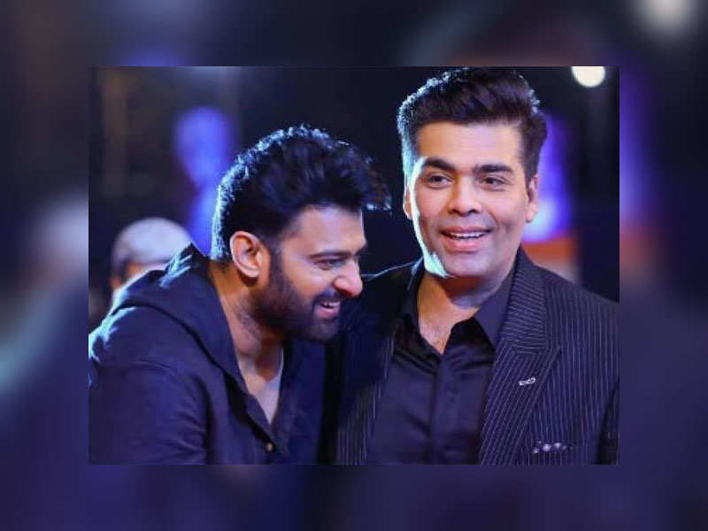 Image result for prabhas with karan johar